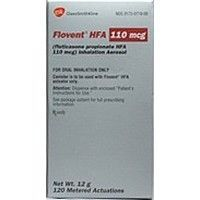 Flovent HFA 110mcg Package Inhaler