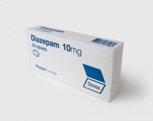 Package of Diazepam