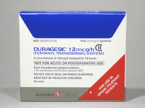 Duragesic patch box