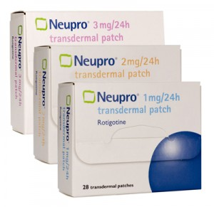 Neupro transdermal patch packages