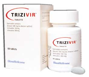 trizivir package and bottle