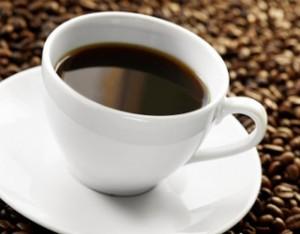 Caffeine coffee and coffee beans