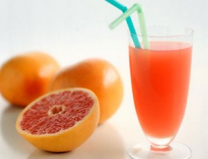 grapefruit and grapefruit drink