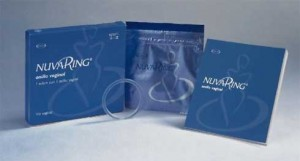 NuvaRing packages and ring