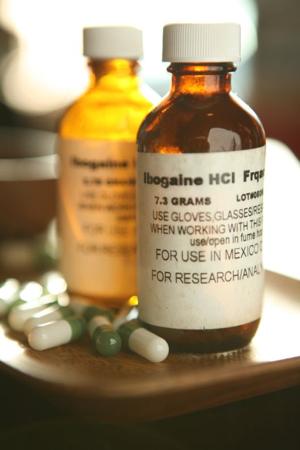 ibogaine prescription bottles