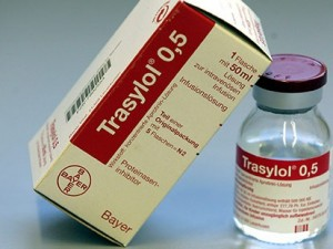 trasylol injection package