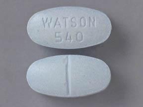 watson 540 Hydrocodone Bitartrate and acetaminophen tablet