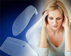 transvaginal mesh- depression